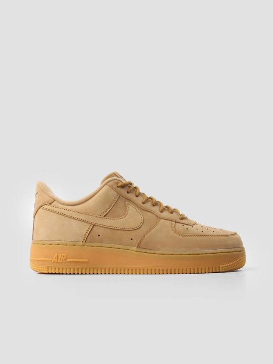Nike Air Force 1 07 WB Flax Flax Gum Light Brown Outdoor Green AA4061-200