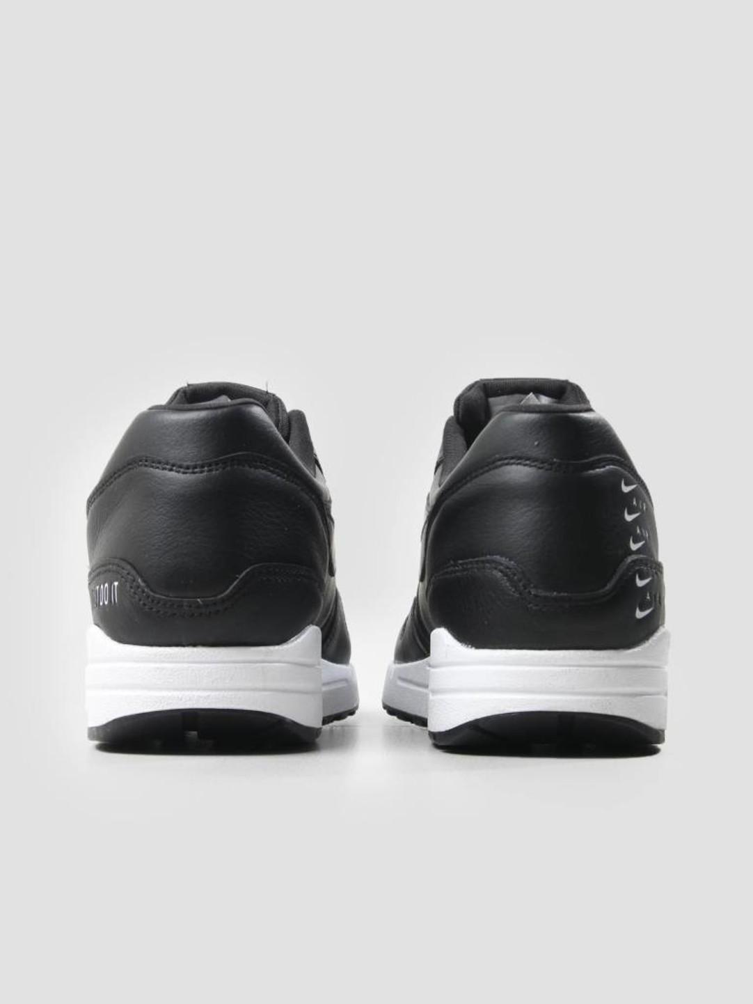 Nike Nike Air Max 1 Se Shoe Black Black White 881101-005