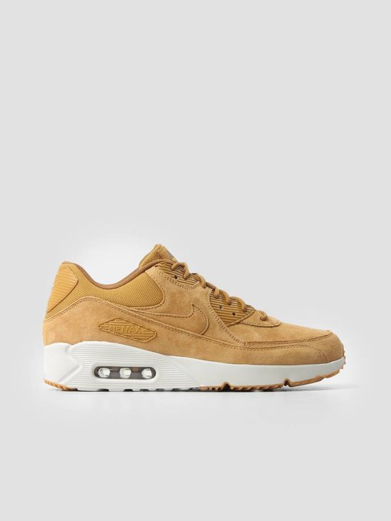 Nike Air Max 90 Ultra 2.0 Ltr Shoe Wheat Wheat Light Bone Gum Med Brown 924447-700