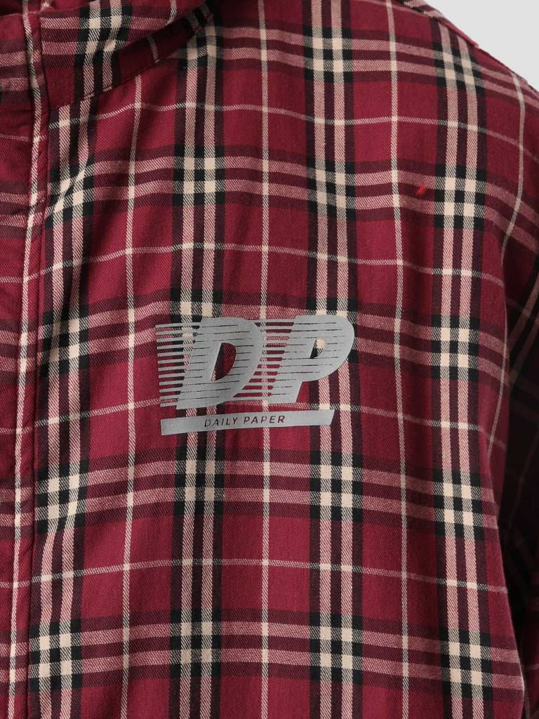 Daily Paper Daily Paper Demo Hoodie Red 18F1HD08