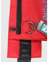 Daily Paper Daily Paper Corset Waistbag Dark Red 18F2OAC01