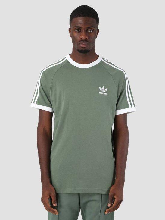 adidas 3-Stripes T-Shirt Tragrn DV2553