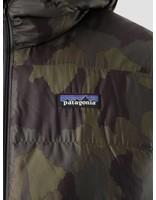 Patagonia Patagonia Hi-Loft Down Hoody Bunker Camo Ink Black 84902