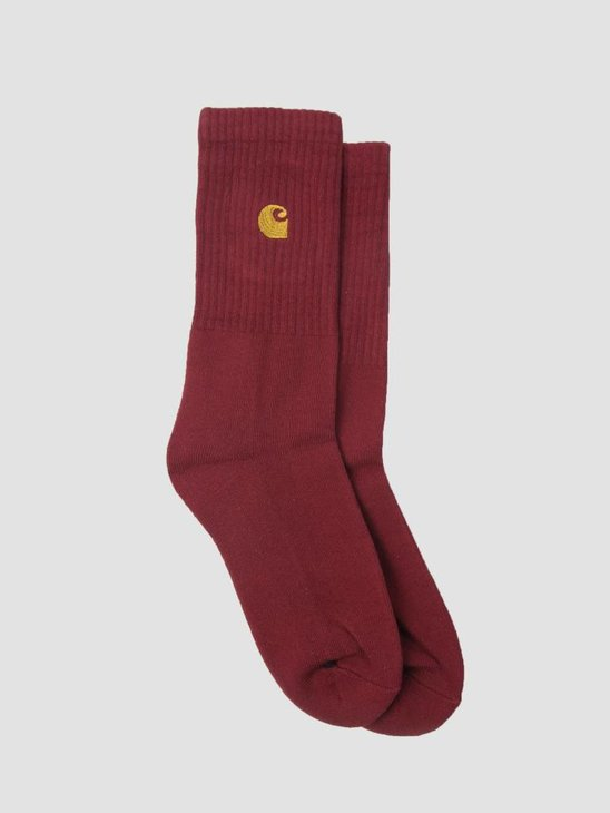 Carhartt Chase Socks Mulberry Gold