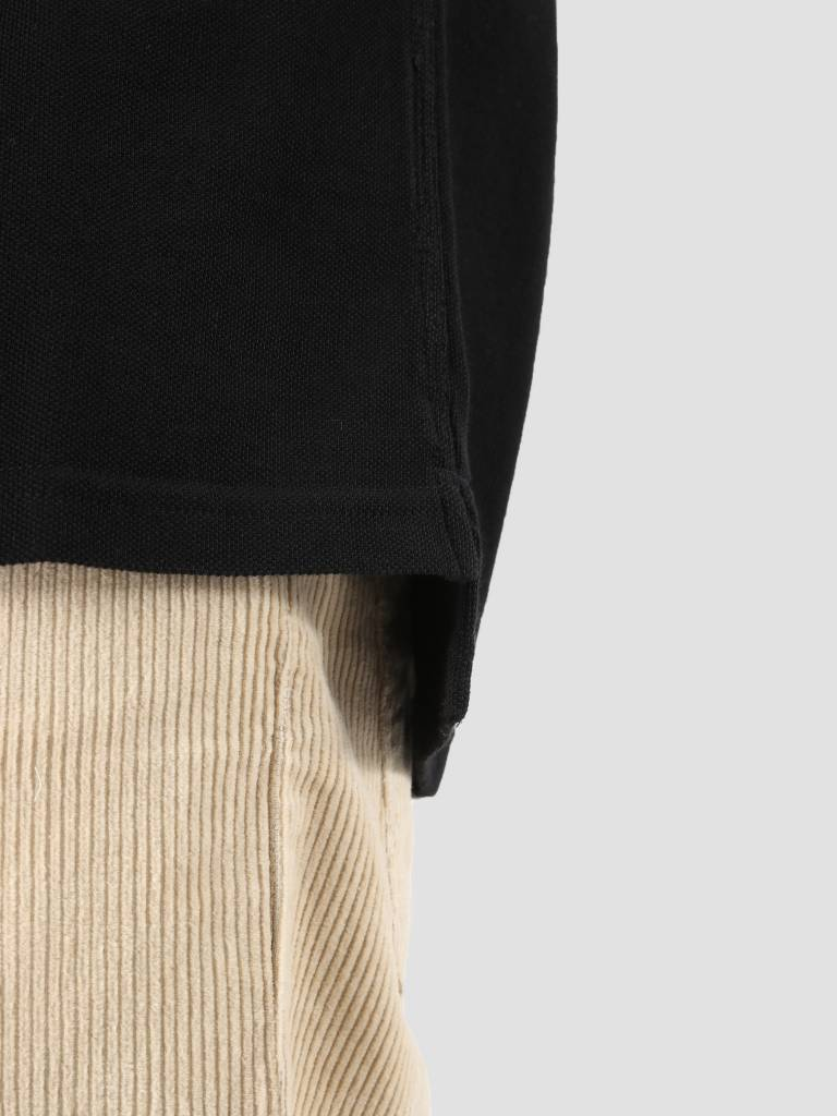 Carhartt Carhartt American Script Polo Longsleeve Black I025503-8900