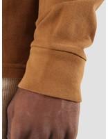 Carhartt Carhartt American Script Polo Longsleeve Hamilton Brown I025503-HZ00