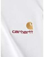 Carhartt Carhartt American Script Polo Longsleeve White I025503-200