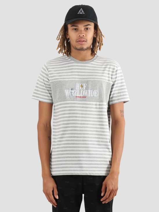 HUF Peanuts Party Animal T-Shirt Knit Grey KN00103