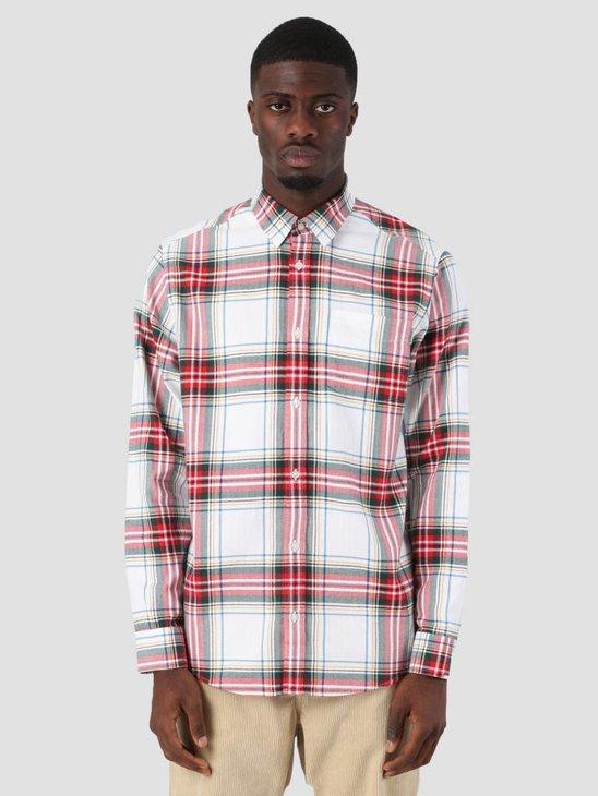 Carhartt Vigo Shirt Vigo Check White I025233-290