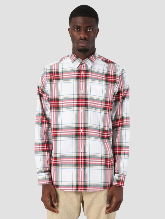 Carhartt WIP Vigo Shirt Vigo Check White I025233-290