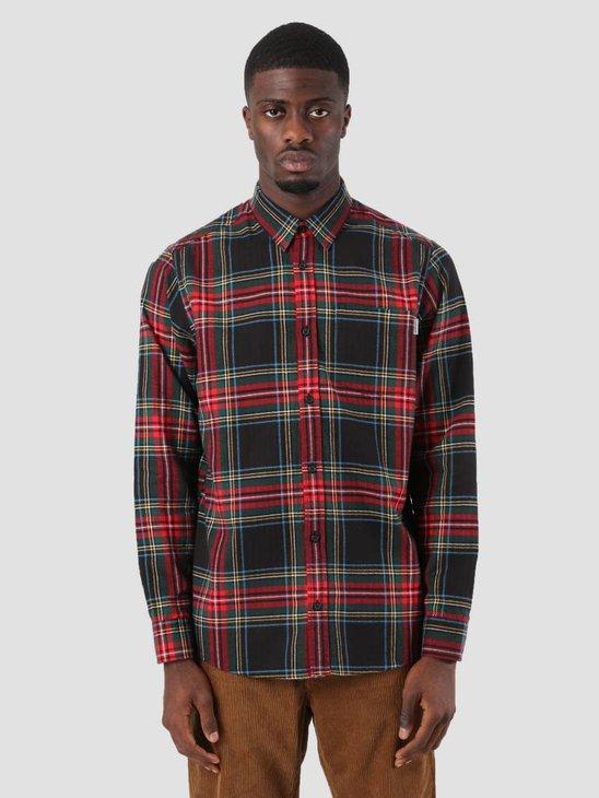 Carhartt Vigo Shirt Vigo Check Black I025233-8990
