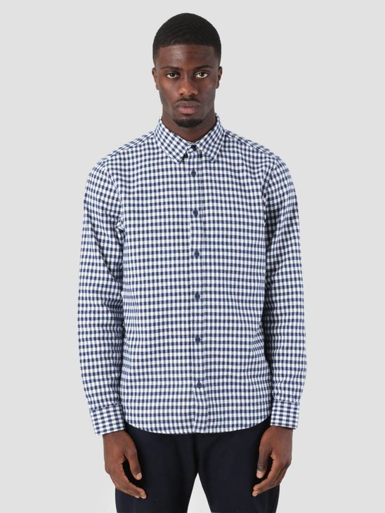 Carhartt Stawell Shirt Stawell Check Metro Blue White I025241-S090