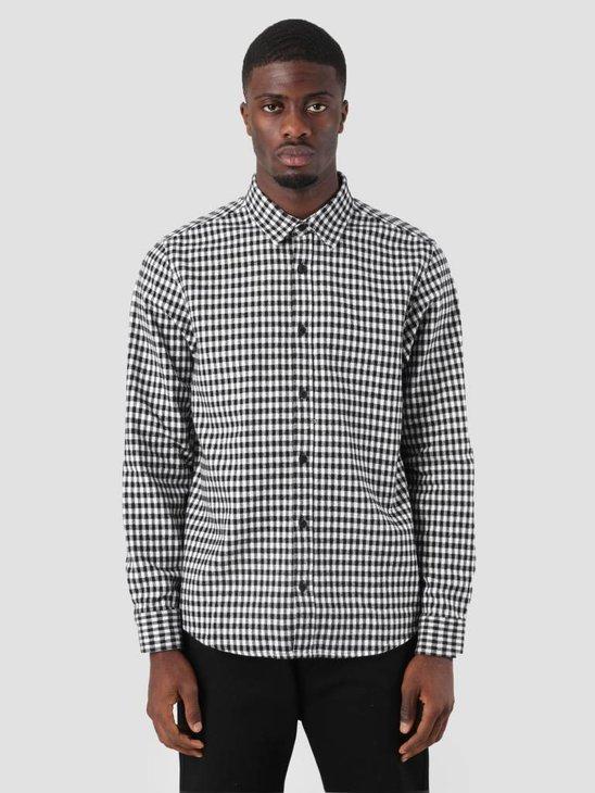 Carhartt WIP Stawell Shirt Stawell Check Black White I025241-8990
