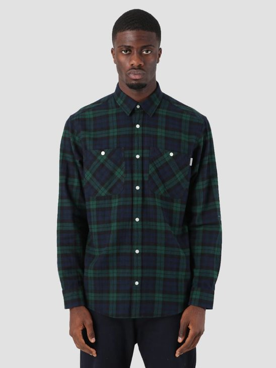 Carhartt Sloman Shirt Sloman Check Colony Hedge I025234-LN90