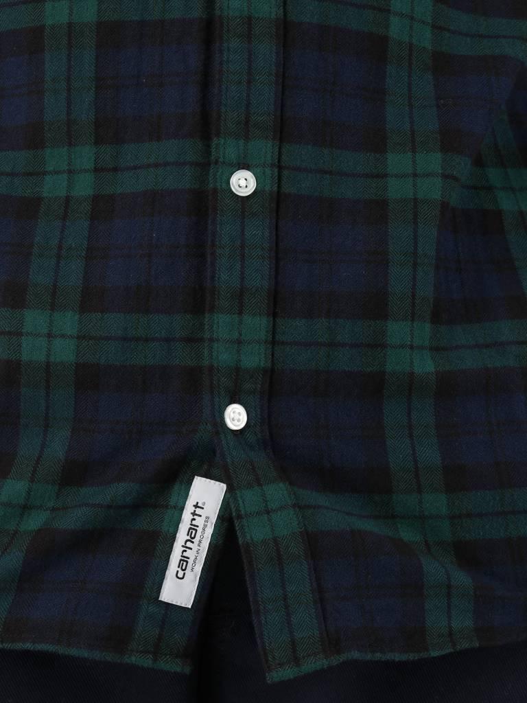 Carhartt Carhartt Sloman Shirt Sloman Check Colony Hedge I025234-LN90