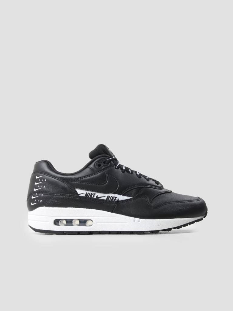 e3b017d4040 Nike Nike Air Max 1 Se Shoe Black Black White 881101-005