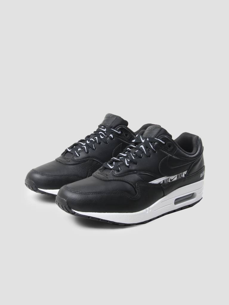Nike Nike Air Max 1 Se Shoe Black Black White 881101-005