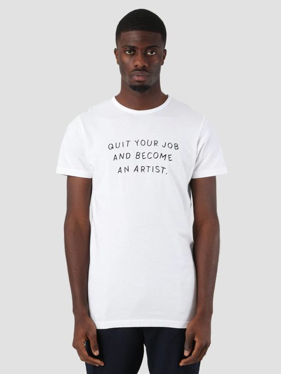 Ceizer Become An Artist T-Shirt White