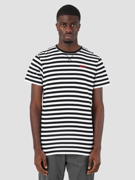 Ceizer Evol Striped T-Shirt Black White 2904242