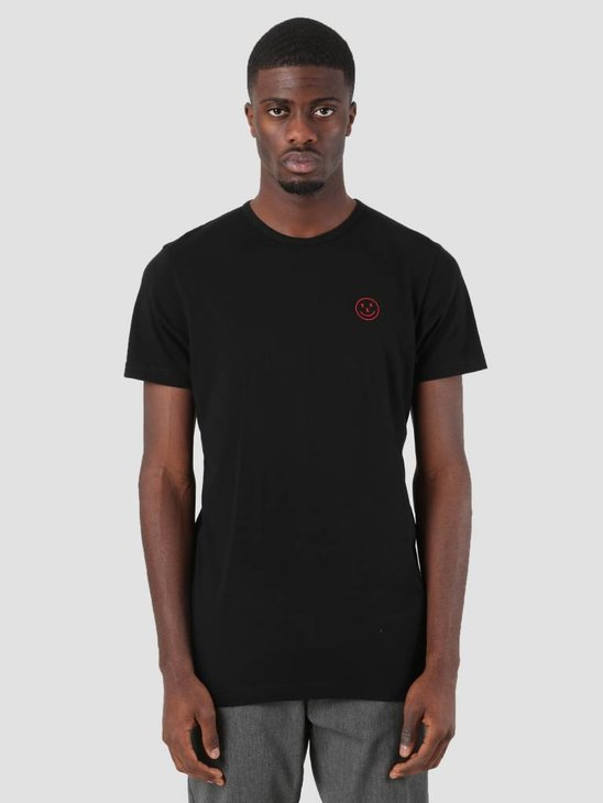 Ceizer Seks Embroidery T-Shirt Black