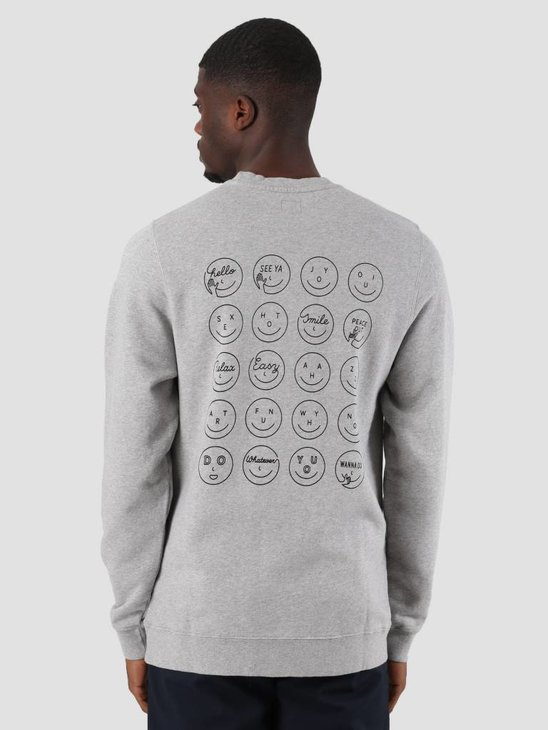 Ceizer Oui Crewneck Heather Grey