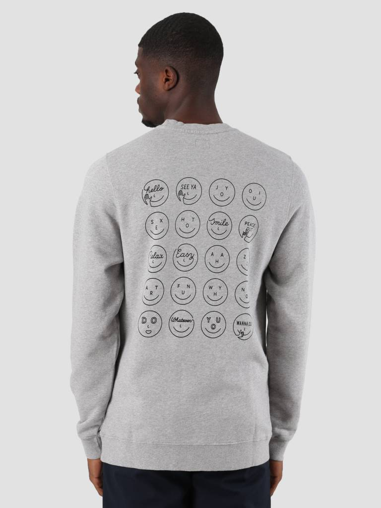 Ceizer Ceizer Oui Crewneck Heather Grey