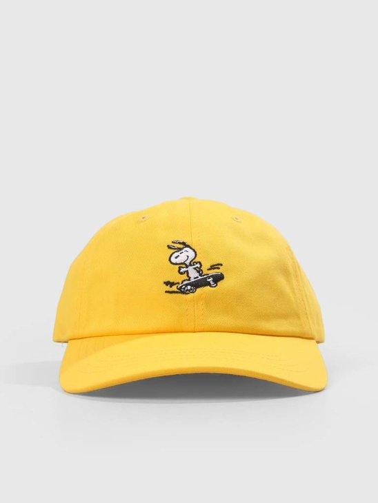 HUF Peanuts Snoopy Sk8 6 Pnl Cv Ha Yellow HT00338