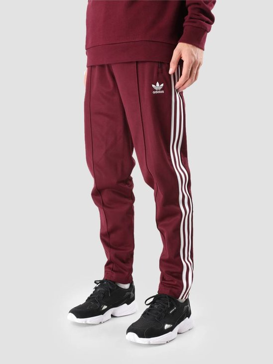 adidas Beckenbauer Trackpant Maroon DH5825