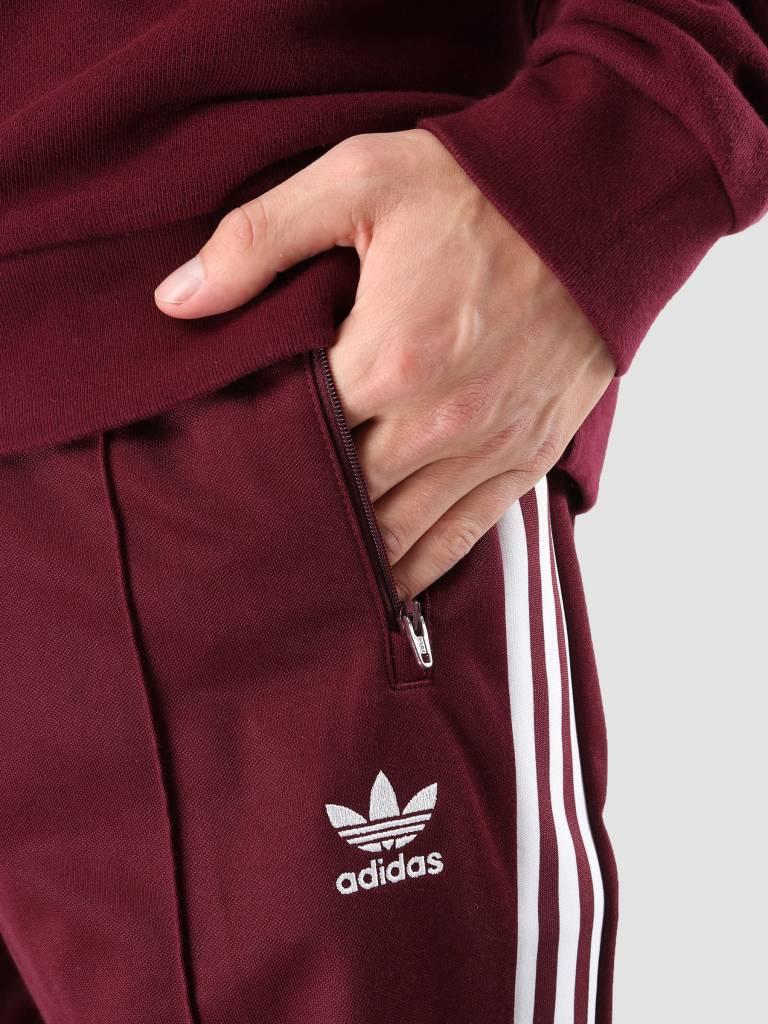 adidas adidas Beckenbauer Trackpant Maroon DH5825