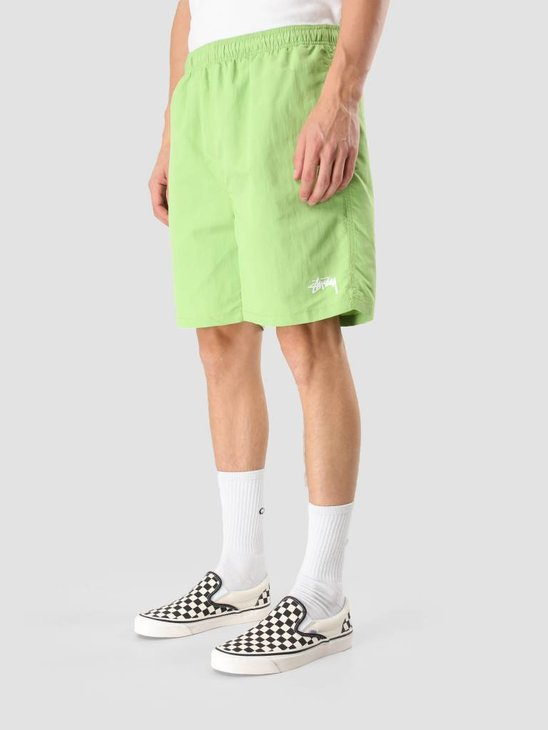 Stussy Stock Water Short Lime 113103