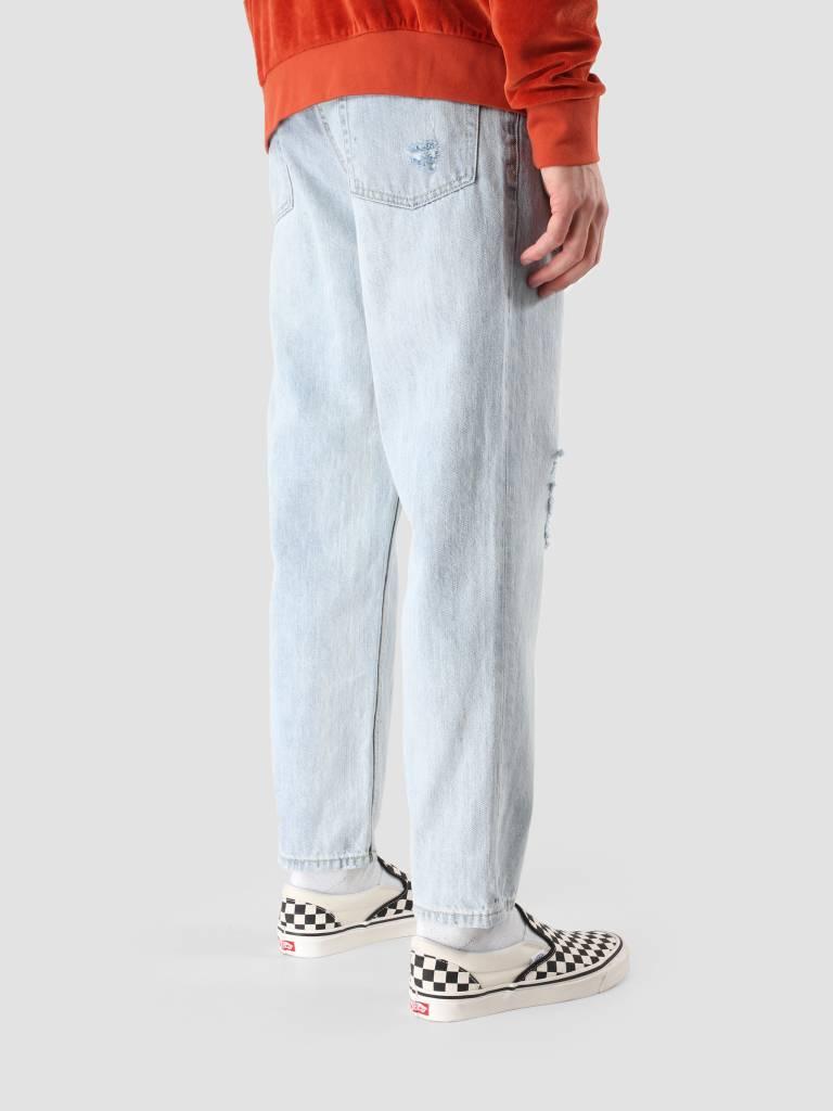 Obey Obey Bender 90's Denim Destoryed Indigo Pants 142010050 Din