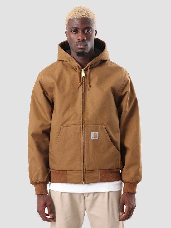 Carhartt Active Jacket Hamilton Brown I023083-HZ00