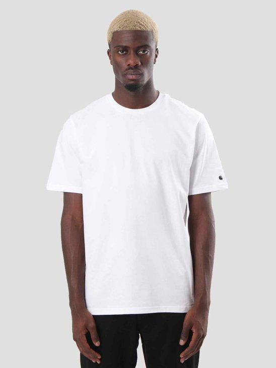 Carhartt WIP Base T-Shirt White Black I026264-290