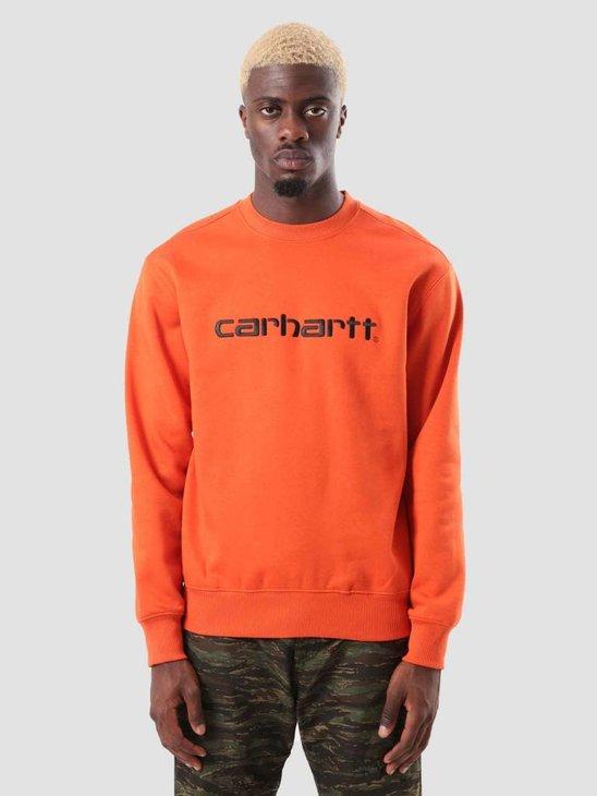 Carhartt Carhartt Sweat Persimmon Black I025478-89290