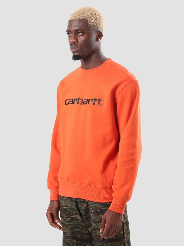 Carhartt Carhartt Carhartt Sweat Persimmon Black I025478-89290