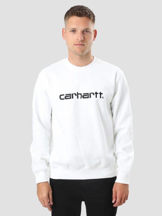 Carhartt Carhartt Sweater White Black I023637