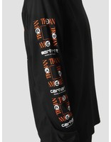 Carhartt Carhartt Longsleeve TROJAN Boss Sounds T-Shirt Trojan Black