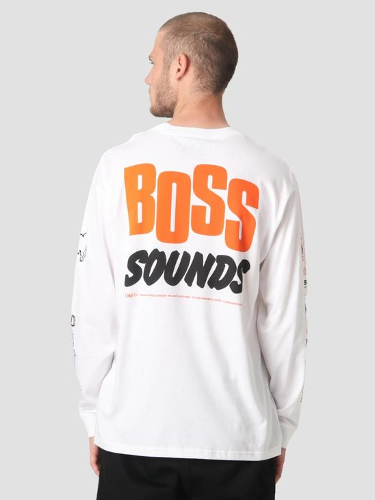 Carhartt Longsleeve TROJAN Boss Sounds T-Shirt Trojan White