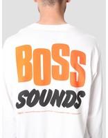 Carhartt Carhartt Longsleeve TROJAN Boss Sounds T-Shirt Trojan White