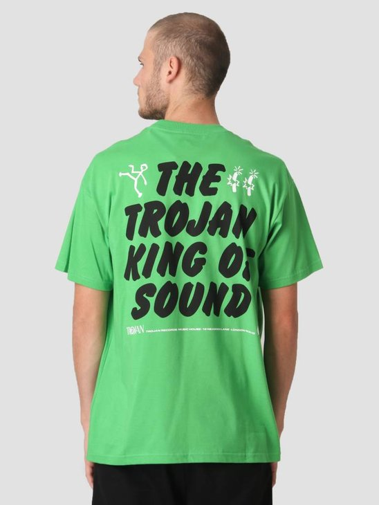Carhartt T-Shirt TROJAN King Of Sound  Trojan Green