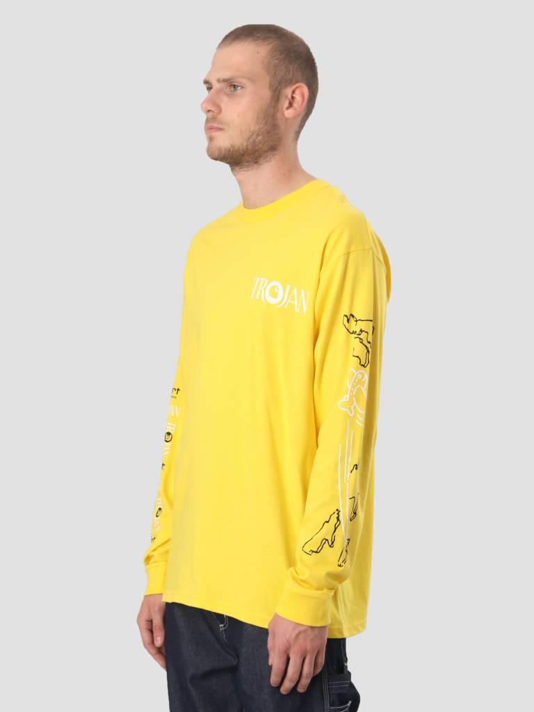 Carhartt Carhartt Longsleeve TROJAN Boss Sounds T-Shirt Trojan Yellow