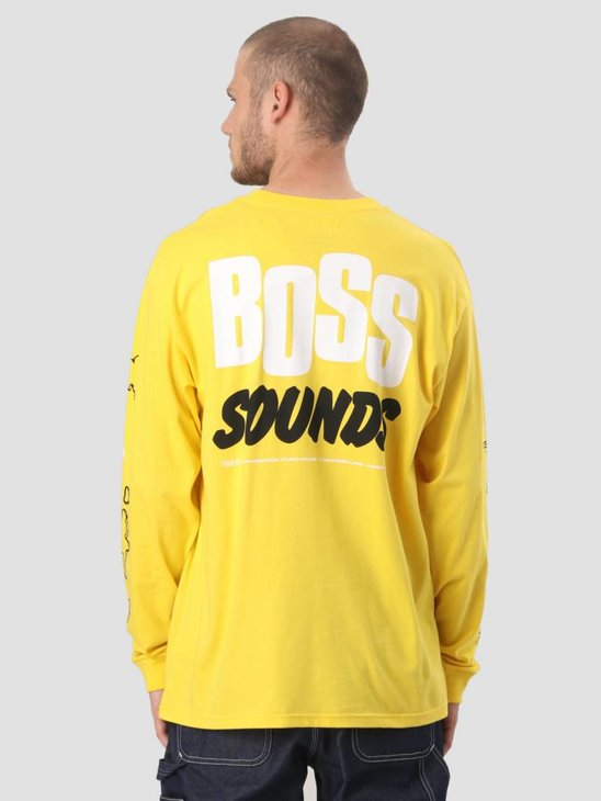 Carhartt WIP Longsleeve TROJAN Boss Sounds T-Shirt Trojan Yellow