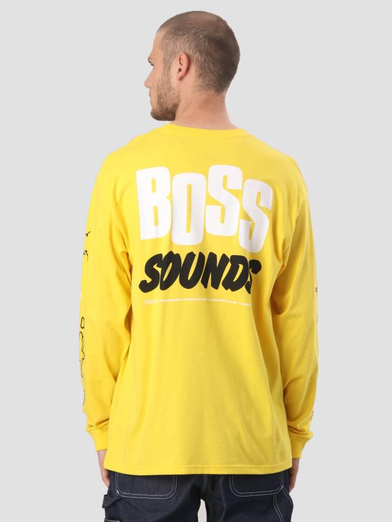 Carhartt WIP Carhartt WIP Longsleeve TROJAN Boss Sounds T-Shirt Trojan Yellow