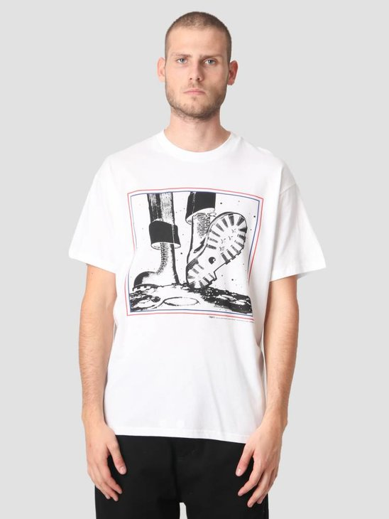 Carhartt T-Shirt TROJAN Moonstomp Trojan White