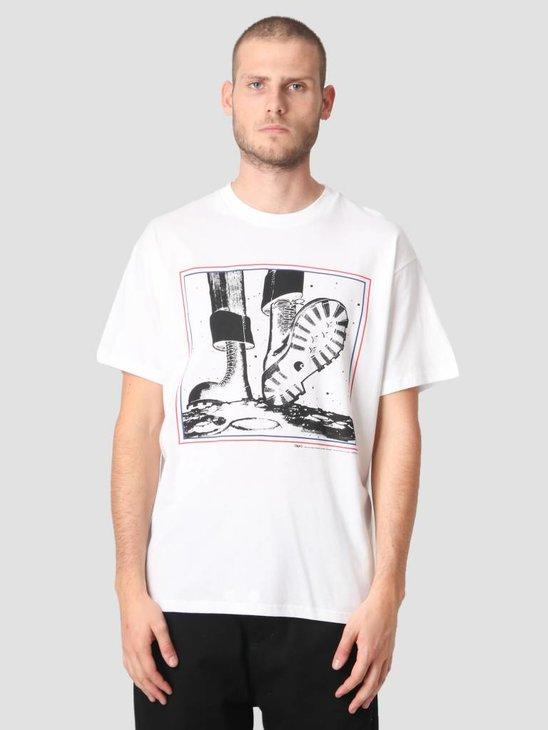 Carhartt WIP T-Shirt TROJAN Moonstomp Trojan White