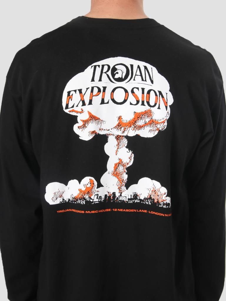 Carhartt WIP Carhartt WIP Longsleeve TROJAN Explosion T-Shirt Trojan Black