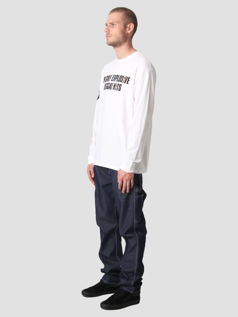 Carhartt Carhartt Longsleeve TROJAN Explosion T-Shirt Trojan White