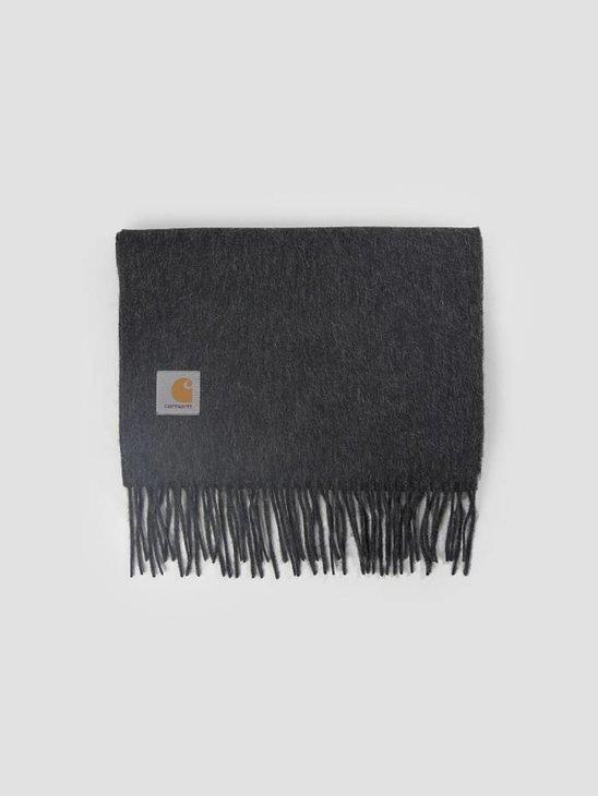 Carhartt Clan Scarf Dark Grey Heather I013507-Zm00