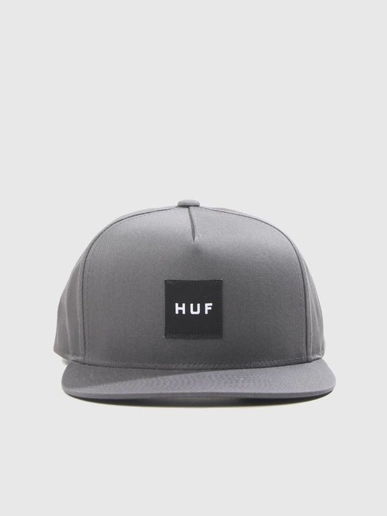HUF Essentails Box Snapback Charcoal HT00300