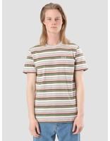 HUF HUF Off Shore Stripe T-Shirt Pink KN00056PINK